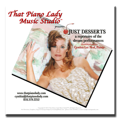 Just Desserts CD Cover